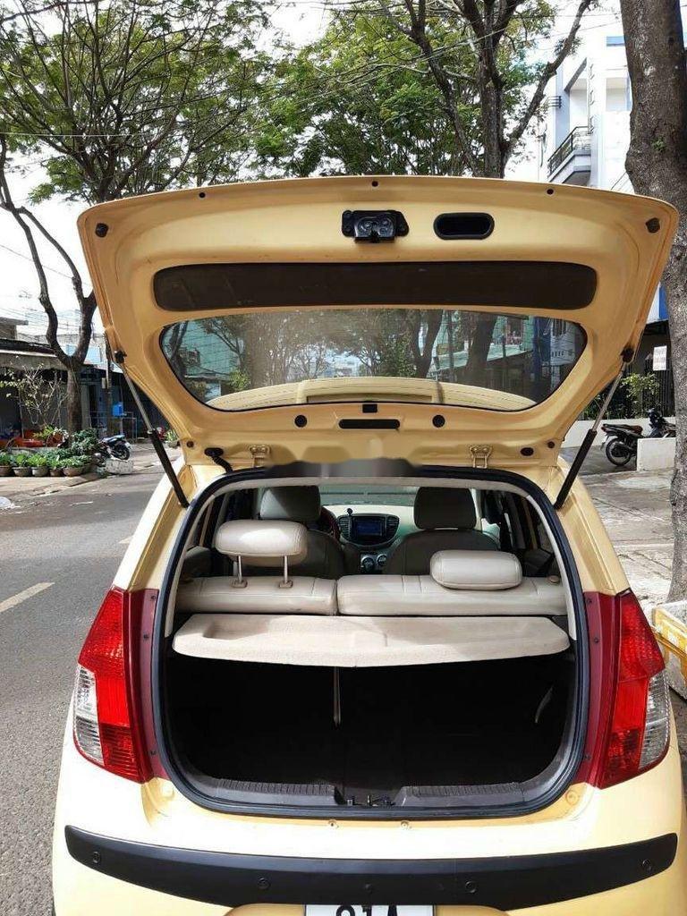Bán Hyundai Grand i10 sản xuất năm 2010, màu vàng, nhập khẩu (7)