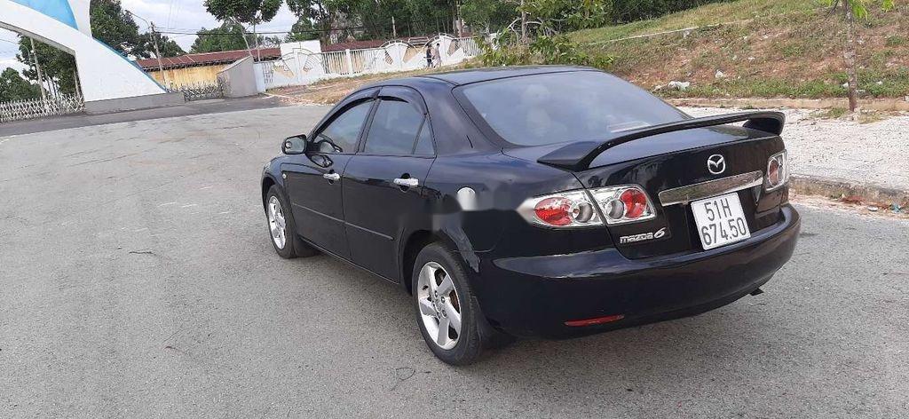 Bán Mazda 6 đời 2003, màu đen, xe nhập  (3)