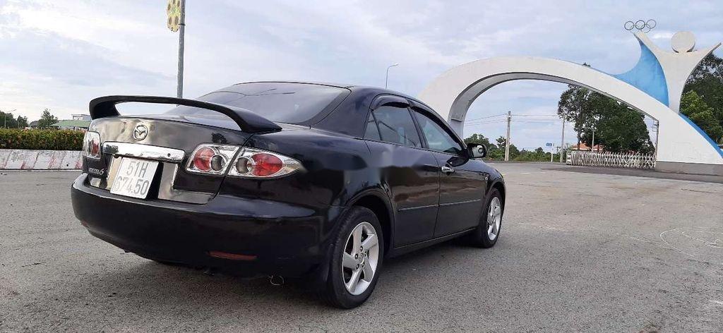 Bán Mazda 6 đời 2003, màu đen, xe nhập  (4)