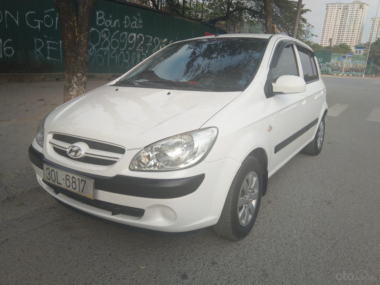 Chính chủ bán nhanh xe Hyundai Get (Click)1.4 MT số sàn 2008 nhập khẩu (1)
