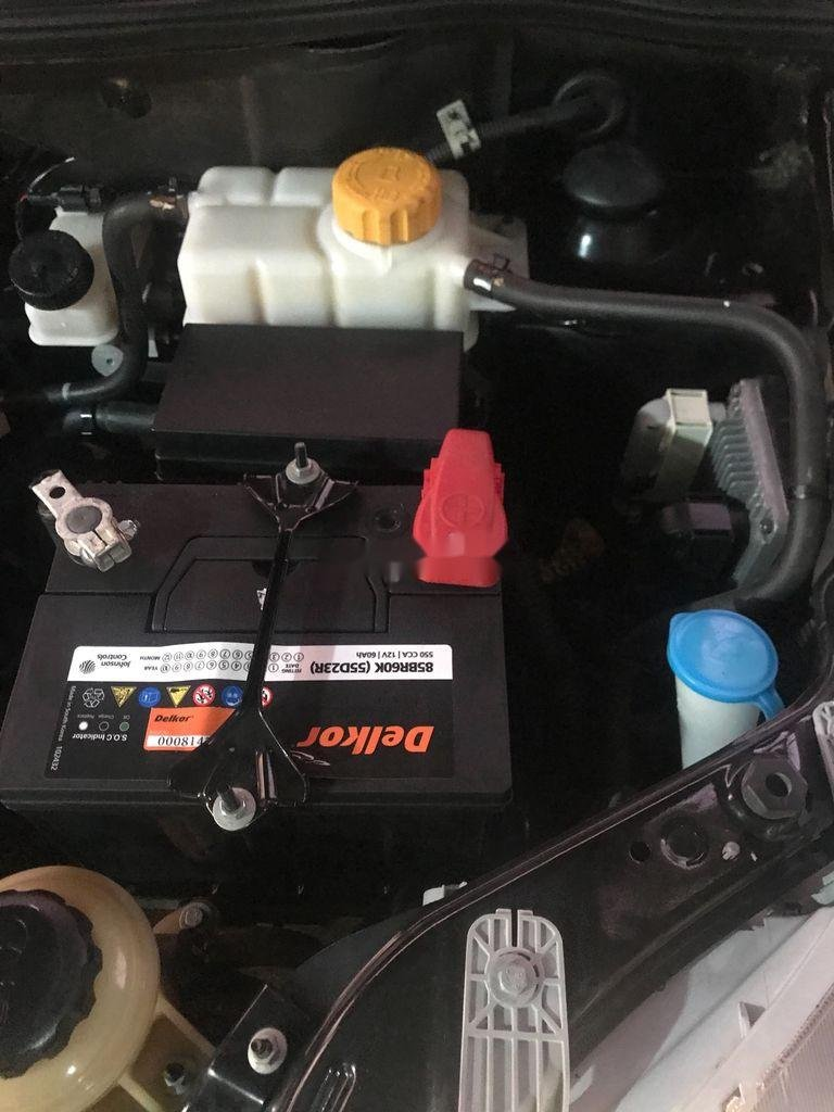 Bán Chevrolet Aveo năm sản xuất 2016, màu đen (4)