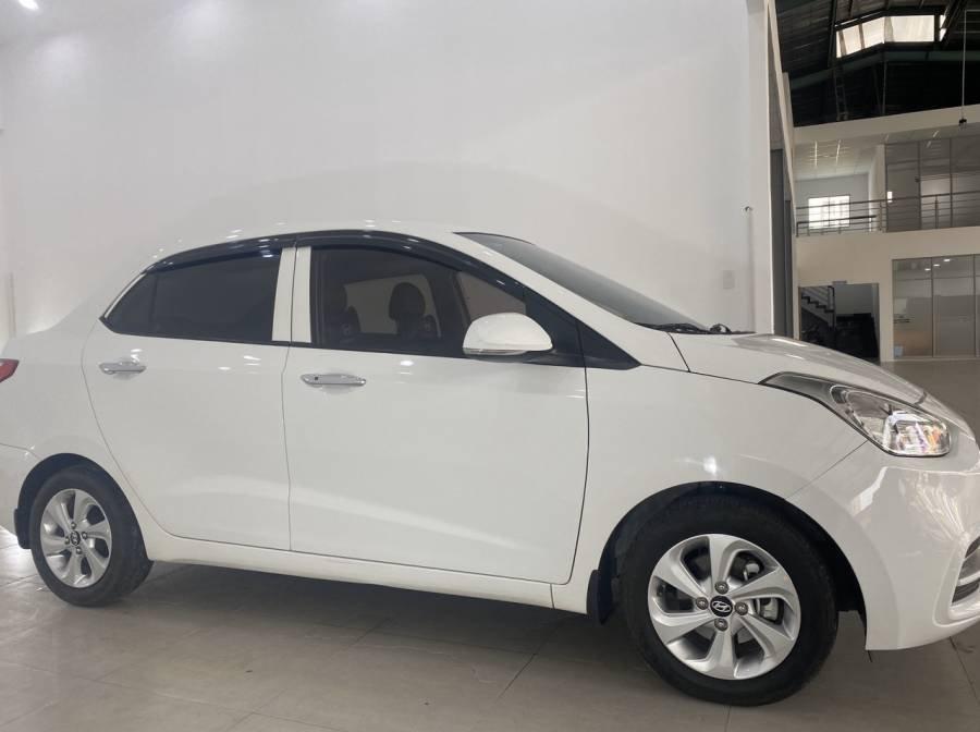 Bán Hyundai Grand i10 sản xuất 2018, màu trắng (12)