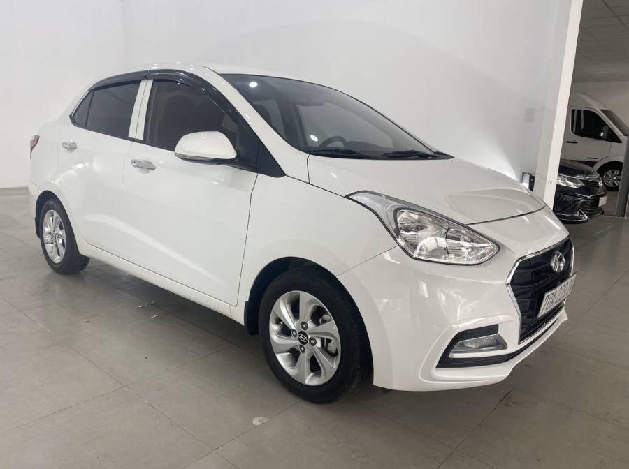 Bán Hyundai Grand i10 sản xuất 2018, màu trắng (4)