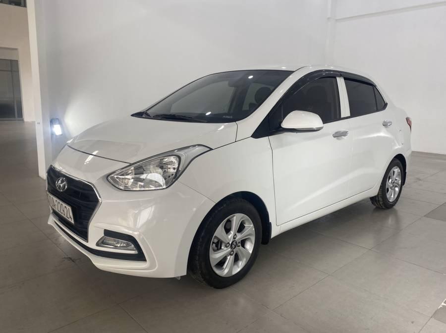 Bán Hyundai Grand i10 sản xuất 2018, màu trắng (11)