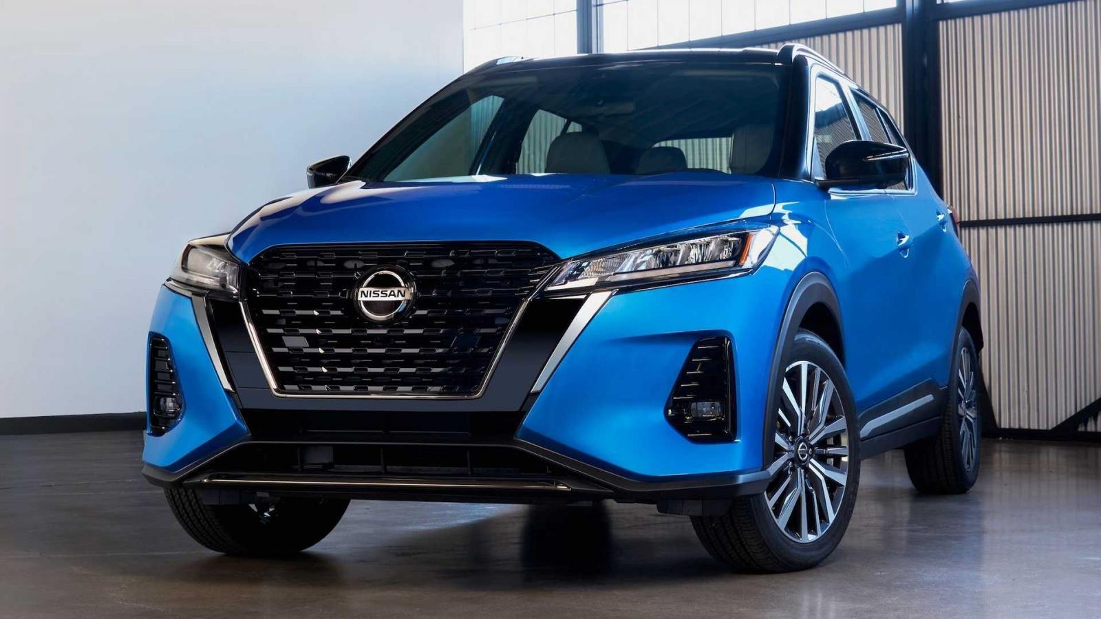 Nissan Kicks 2021 bổ sung trang bị, tiện tay tăng giá.