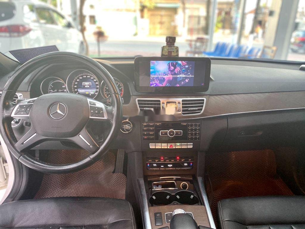 Cần bán gấp Mercedes E 200 đời 2015, màu trắng (7)