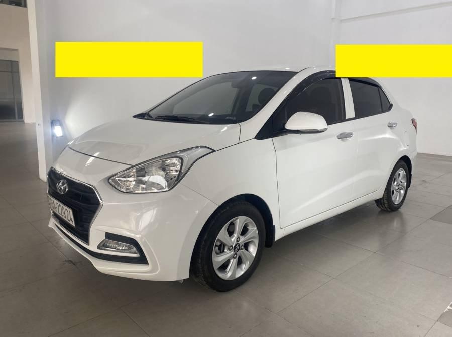 Bán Hyundai Grand i10 sản xuất 2018, màu trắng (1)