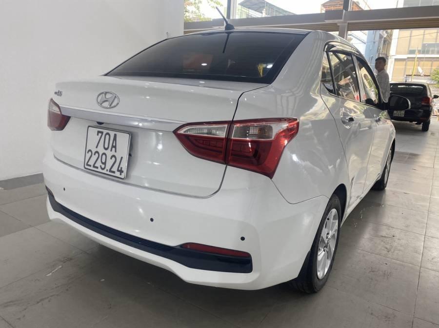 Bán Hyundai Grand i10 sản xuất 2018, màu trắng (5)