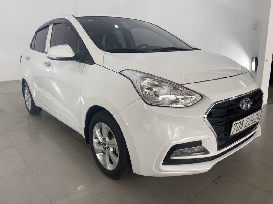Bán Hyundai Grand i10 sản xuất 2018, màu trắng (13)