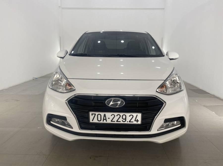 Bán Hyundai Grand i10 sản xuất 2018, màu trắng (15)