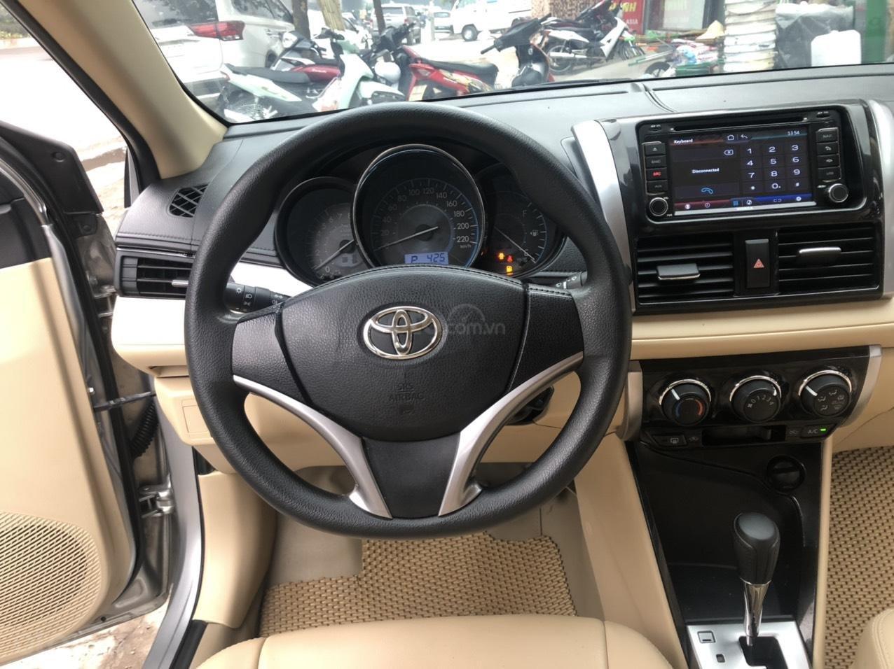 Bán nhanh Toyota Vios E AT đời 2018 màu bạc, xe chất biển TP, xe đẹp, nguyên zin không kinh doanh, chạy hơn 30000km (6)