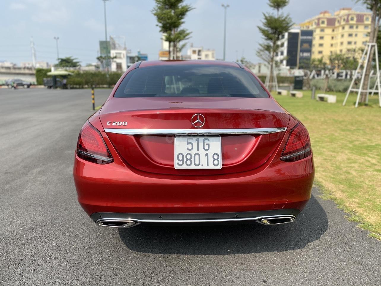 Xe Mercedes C200 sản xuất năm 2020, giá ưu đãi (4)