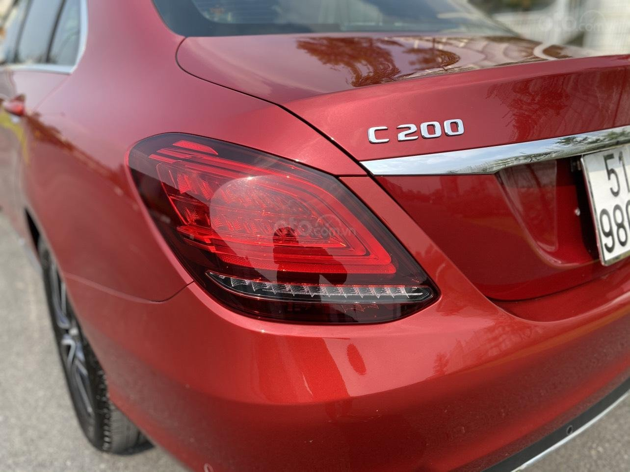 Xe Mercedes C200 sản xuất năm 2020, giá ưu đãi (6)