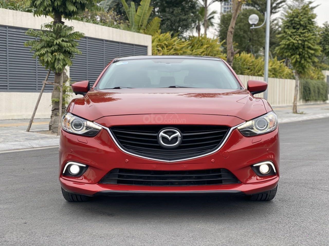Bán nhanh chiếc Mazda 6 2.5AT 2015 chủ đi cực giữ gìn (1)