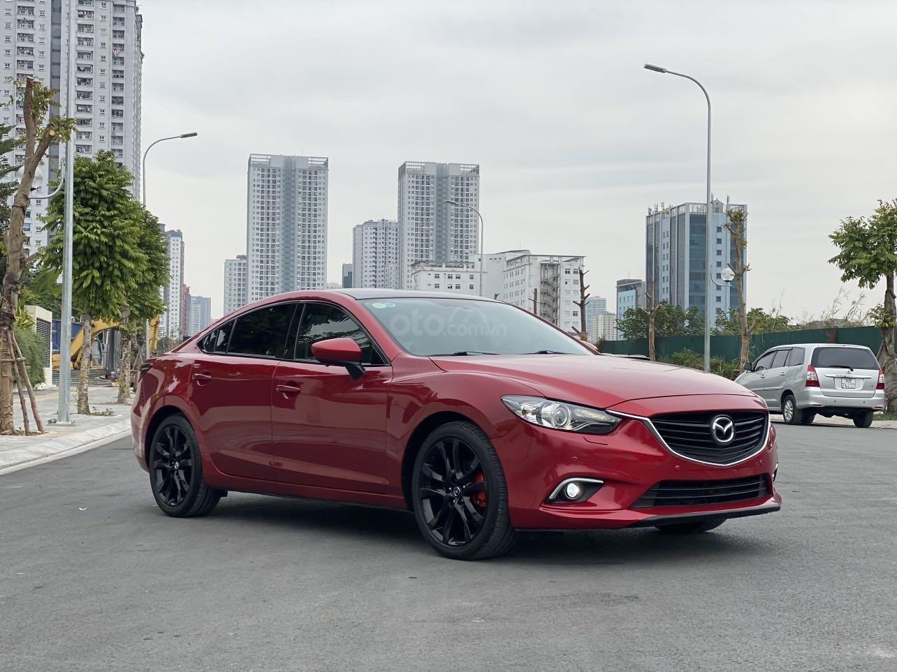 Bán nhanh chiếc Mazda 6 2.5AT 2015 chủ đi cực giữ gìn (2)