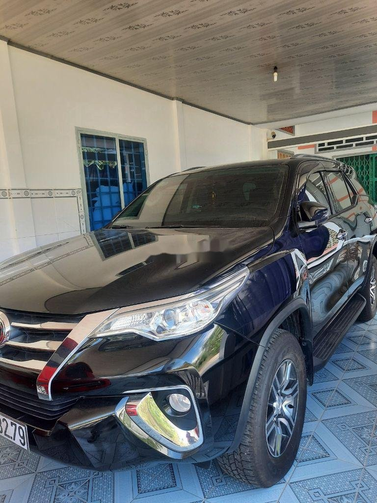 Bán xe Toyota Fortuner năm 2018, màu đen, nhập khẩu, giá tốt (1)