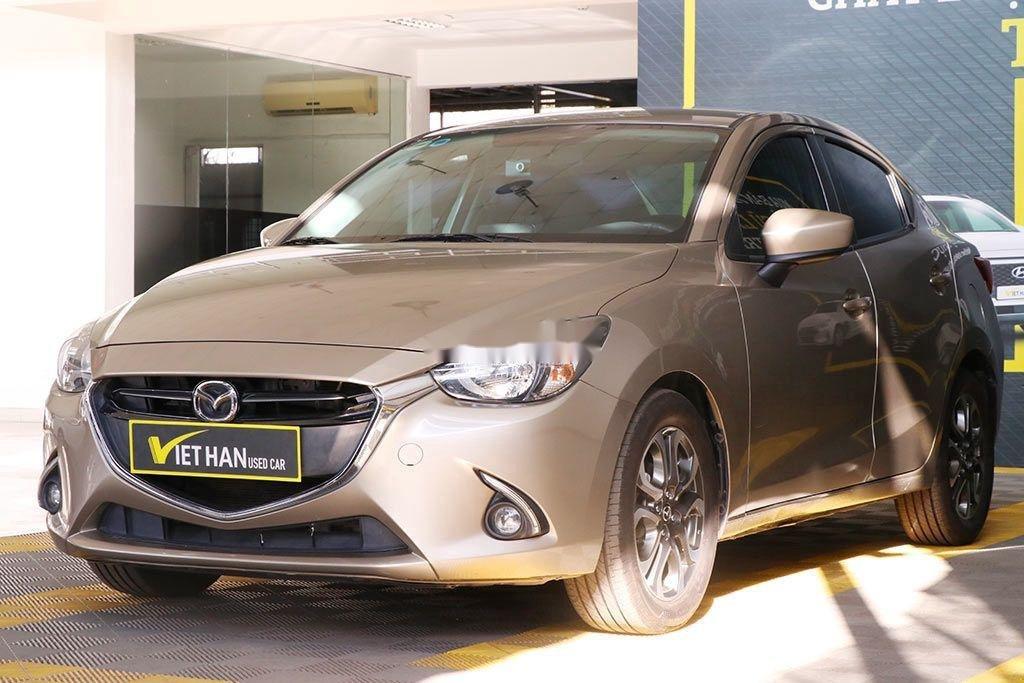 Cần bán gấp Mazda 2 đời 2016, màu vàng, 426tr (2)