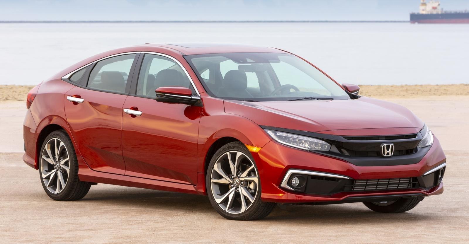 Honda Civic có sức hút mạnh mẽ.