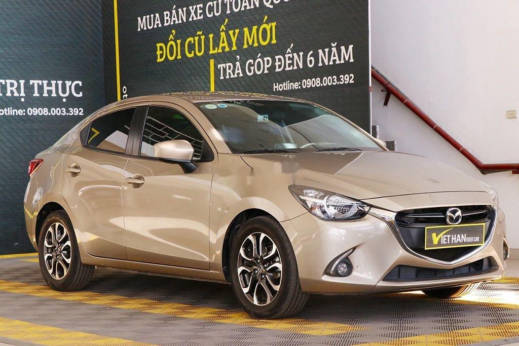 Cần bán gấp Mazda 2 đời 2016, màu vàng, 426tr (1)