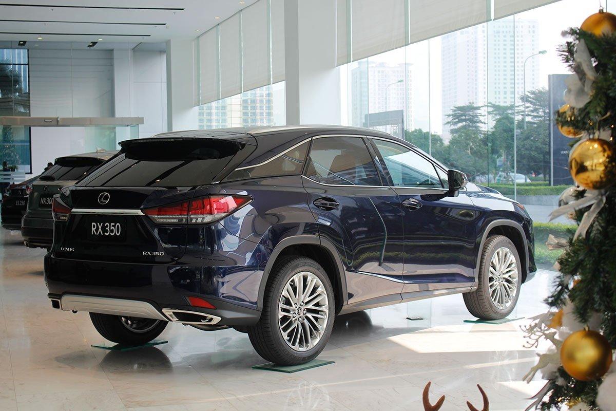 Trang bị an toàn trên Lexus RX 350.