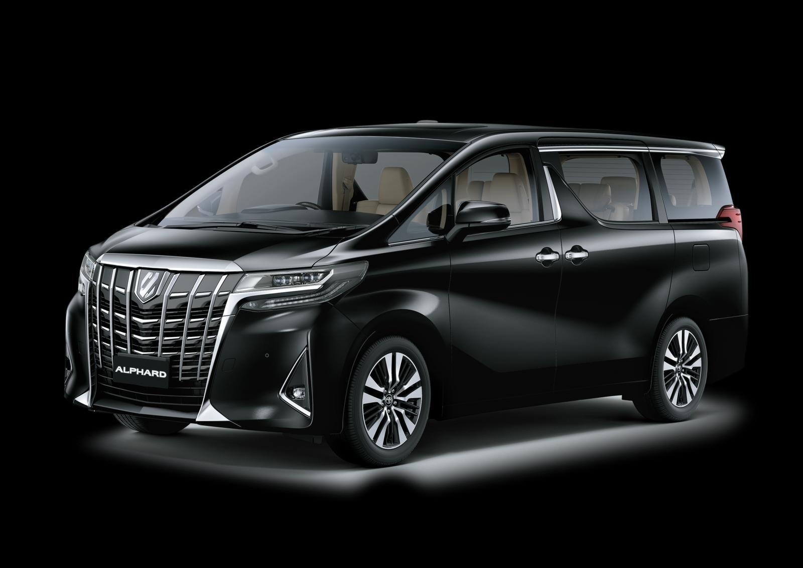 Giá lăn bánh xe Toyota Alphard 2021 nâng cấp vừa ra mắt