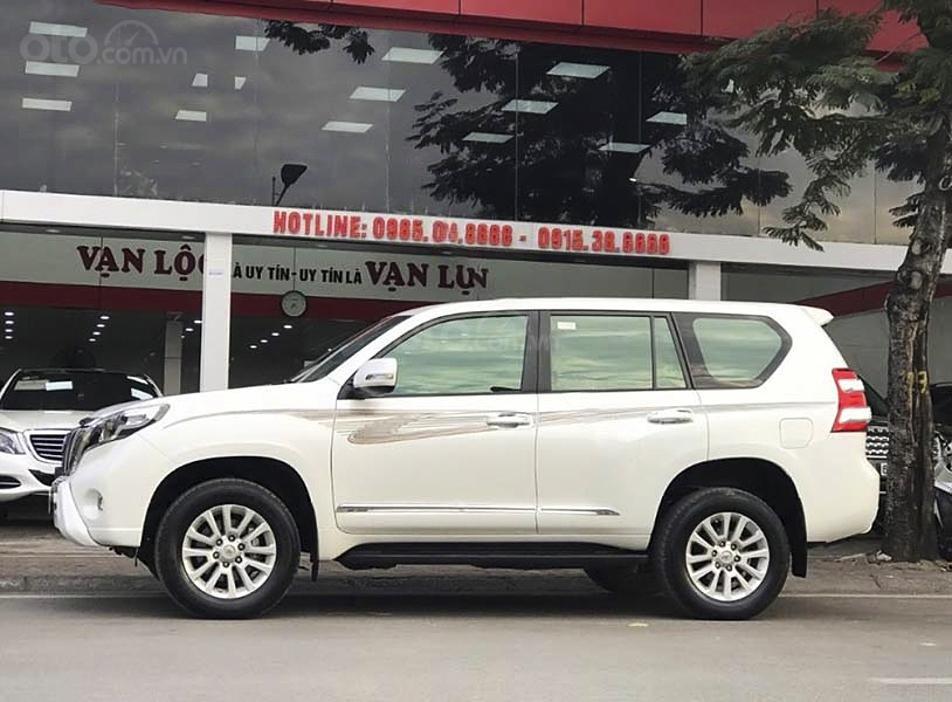 Bán Toyota Prado năm 2015, màu trắng, nhập khẩu nguyên chiếc (1)