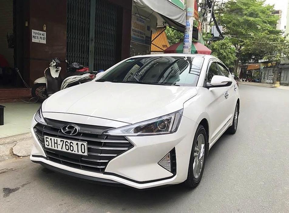Bán Hyundai Elantra 1.6AT bản GLS năm 2020, màu trắng, 648 triệu (1)