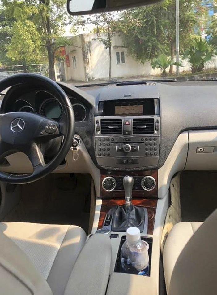 Cần bán gấp Mercedes C250 năm sản xuất 2009, màu xám, giá chỉ 430 triệu (3)