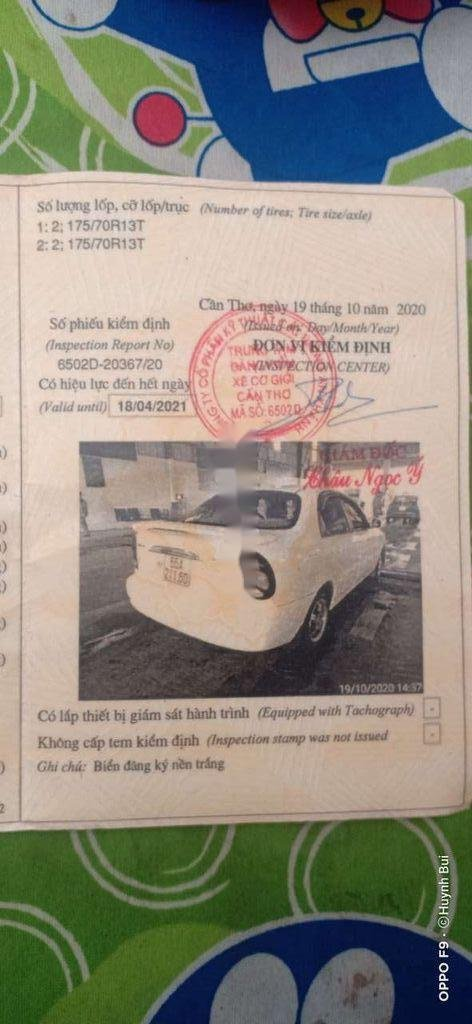 Cần bán xe Daewoo Lanos năm sản xuất 2003, màu trắng (8)