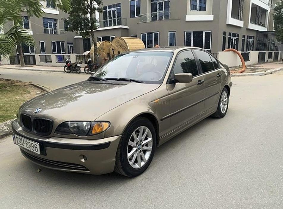Bán BMW 3 Series 2003, màu nâu, nhập khẩu (1)