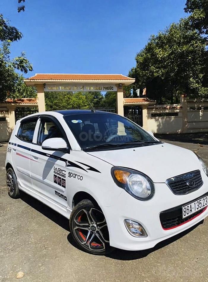 Cần bán lại xe Kia Morning đời 2011, màu trắng, nhập khẩu  (1)