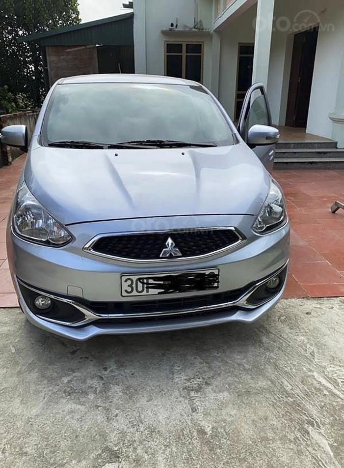 Bán ô tô Mitsubishi Mirage đời 2019, màu bạc, nhập khẩu  (1)