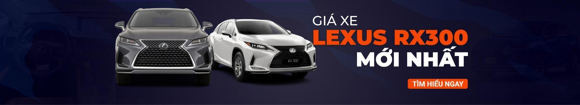 Giá xe Lexus RX300 mới nhất