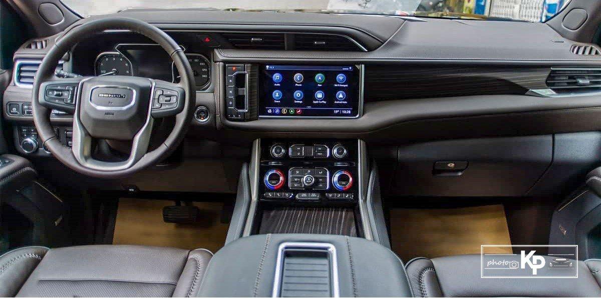 Ảnh Khoang lái xe GMC Yukon 2021