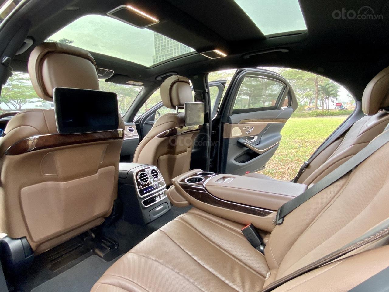 [Hot] bán chiếc Mercedes S450L model 2019, đi đúng 8686 km, biển siêu vip (9)