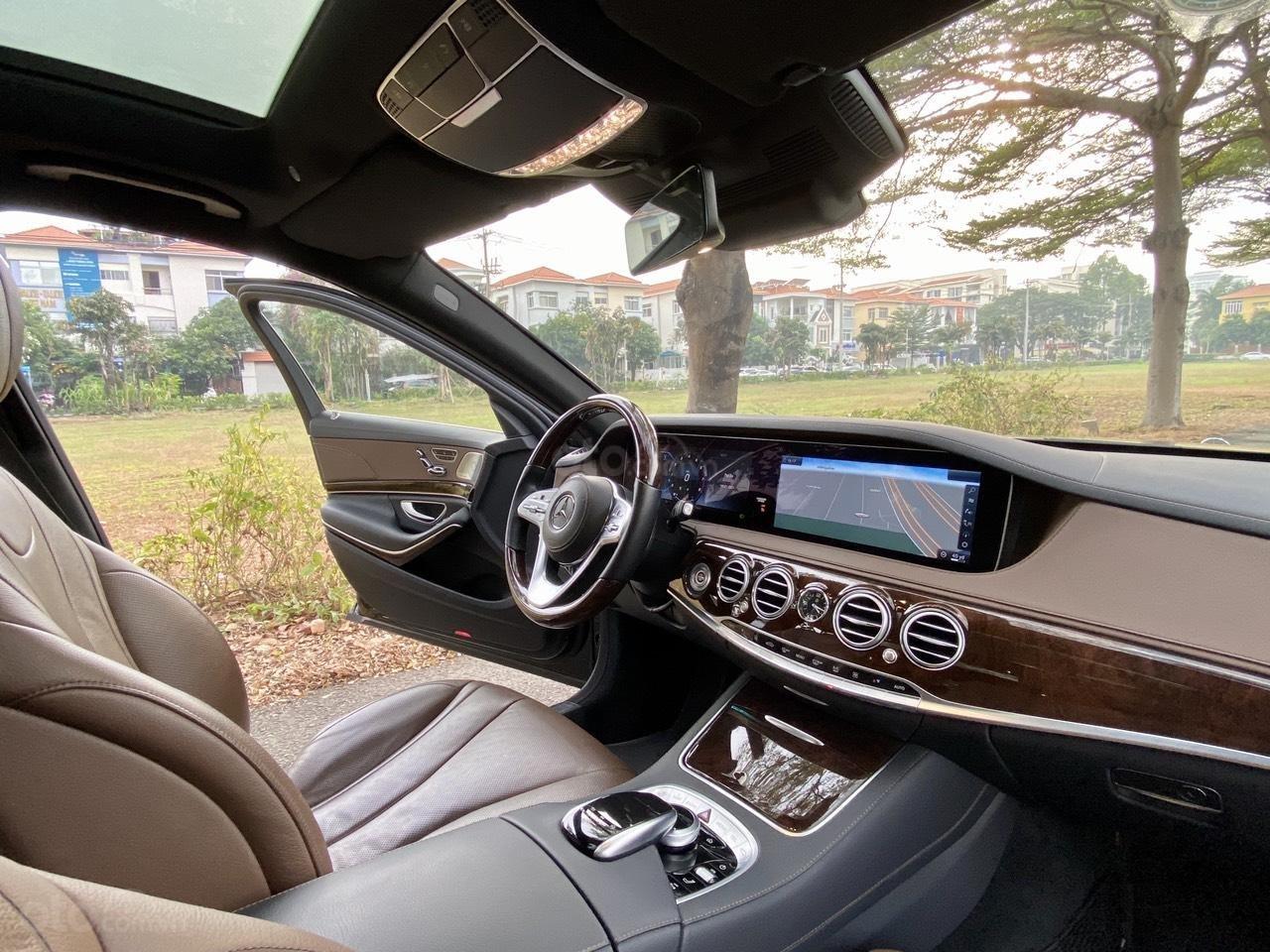 [Hot] bán chiếc Mercedes S450L model 2019, đi đúng 8686 km, biển siêu vip (14)