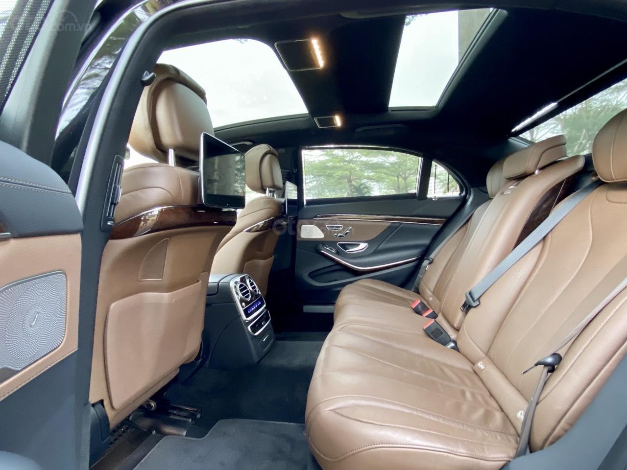 [Hot] bán chiếc Mercedes S450L model 2019, đi đúng 8686 km, biển siêu vip (15)