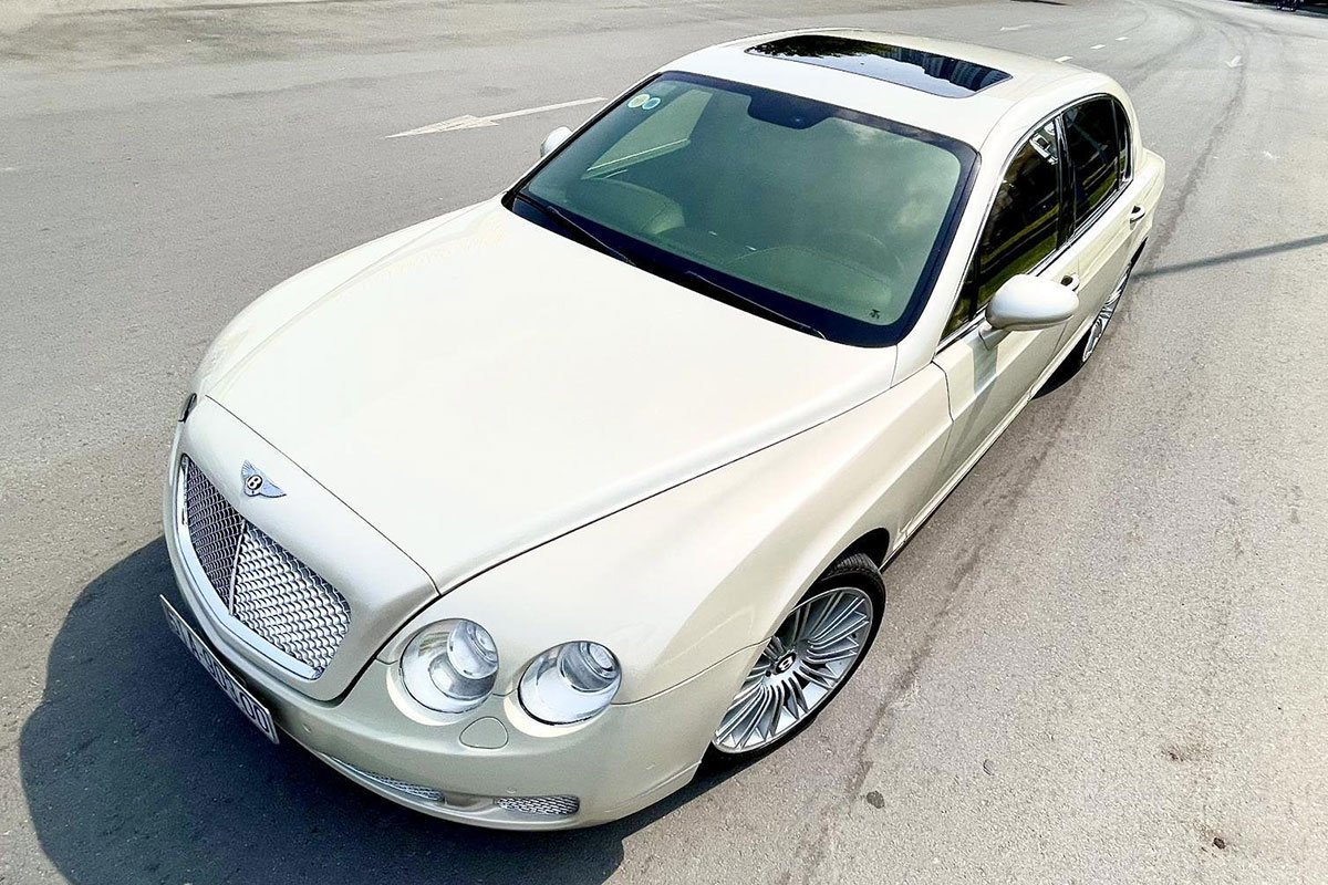 Thiết kế tổng thể xe Bentley Continental Flying Spur Speed 2009 1