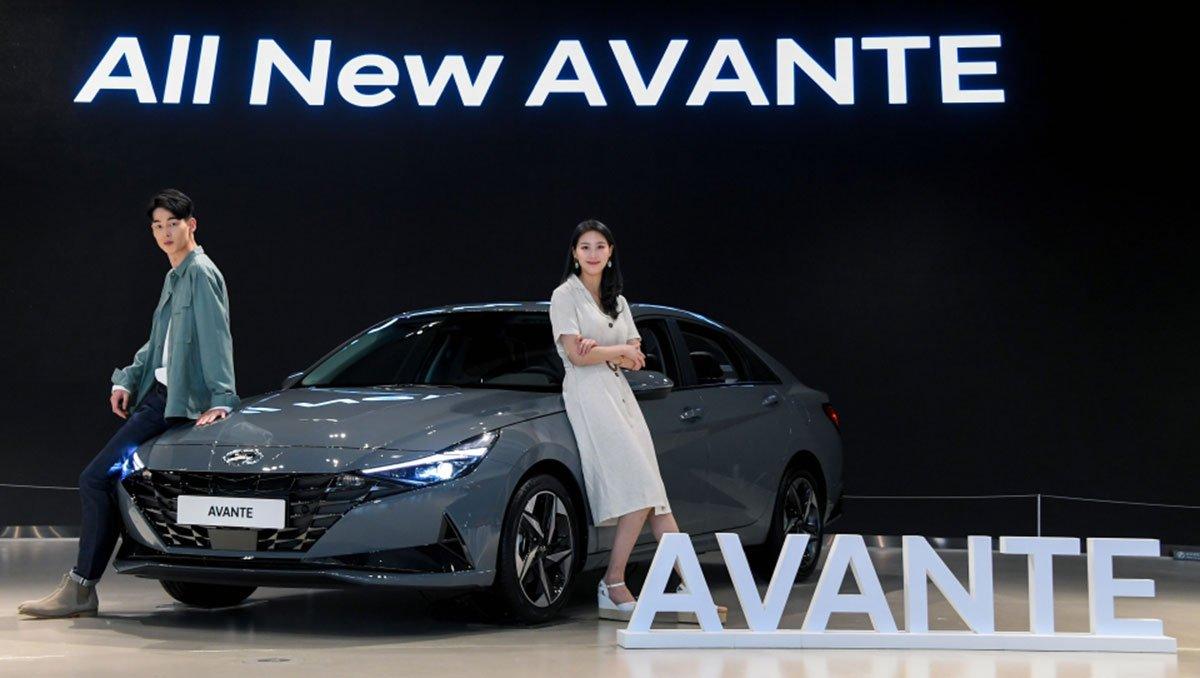Hyundai Elantra bán chạy tại Hàn Quốc 1