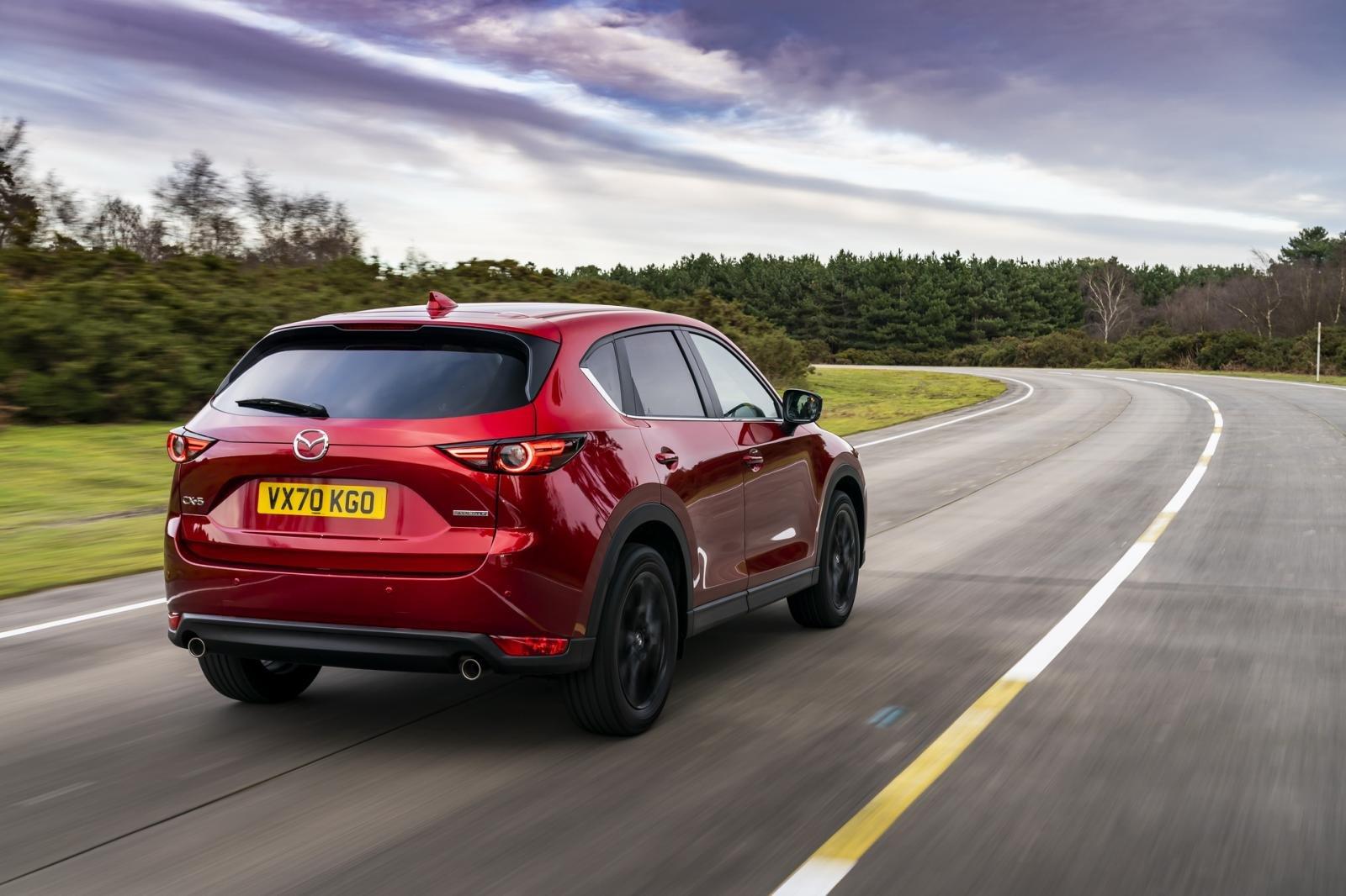 Mazda CX-5 2021 bản tiêu chuẩn còn vén màn kèm biến thể đặc biệt Kuro.