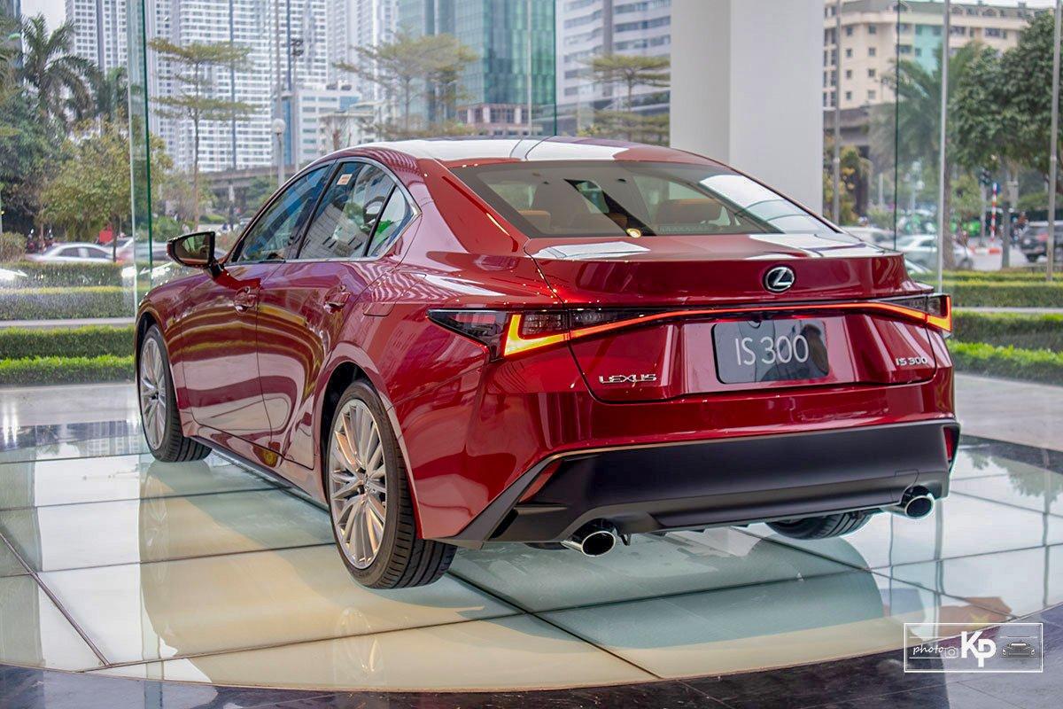 Ảnh Tổng quát xe Lexus IS 300 2021
