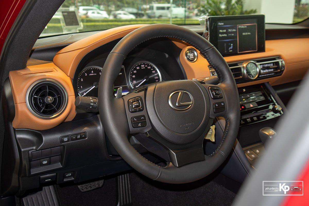Ảnh Vô-lăng xe Lexus IS 300 2021