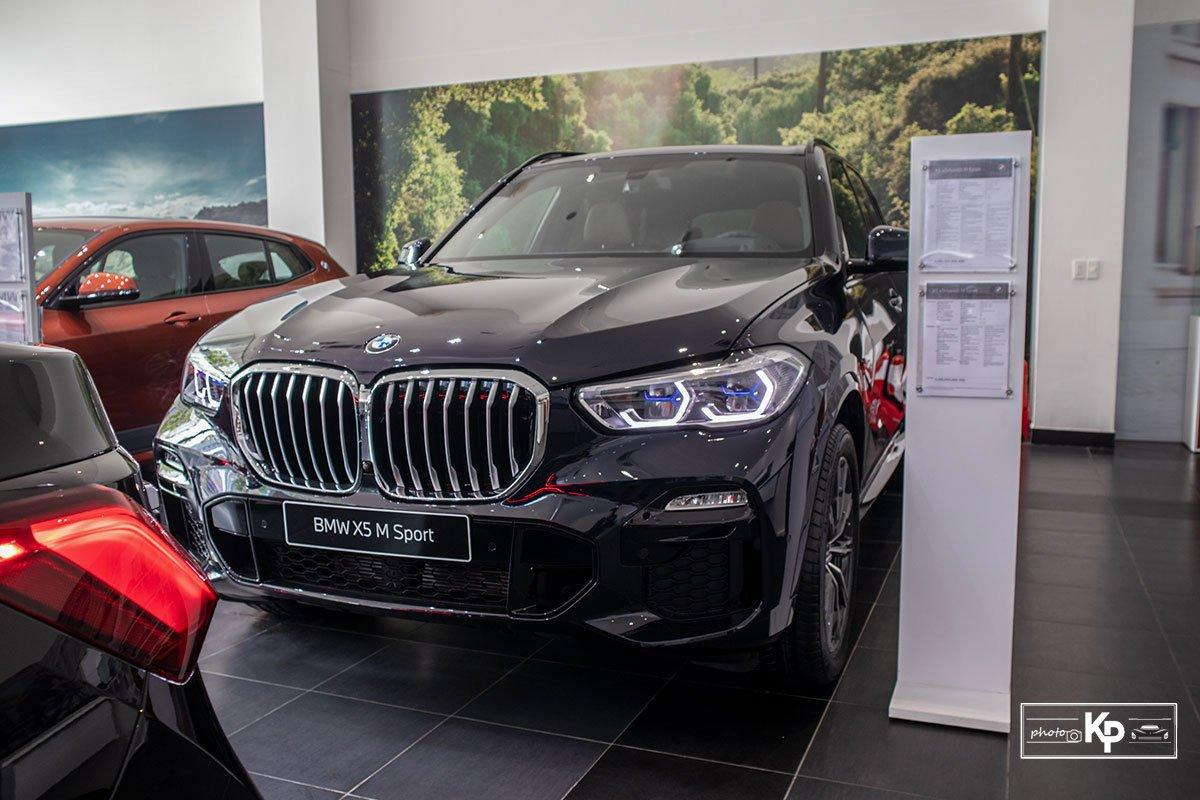 Ảnh Đầu xe xe BMW X5 M-Sport 2021