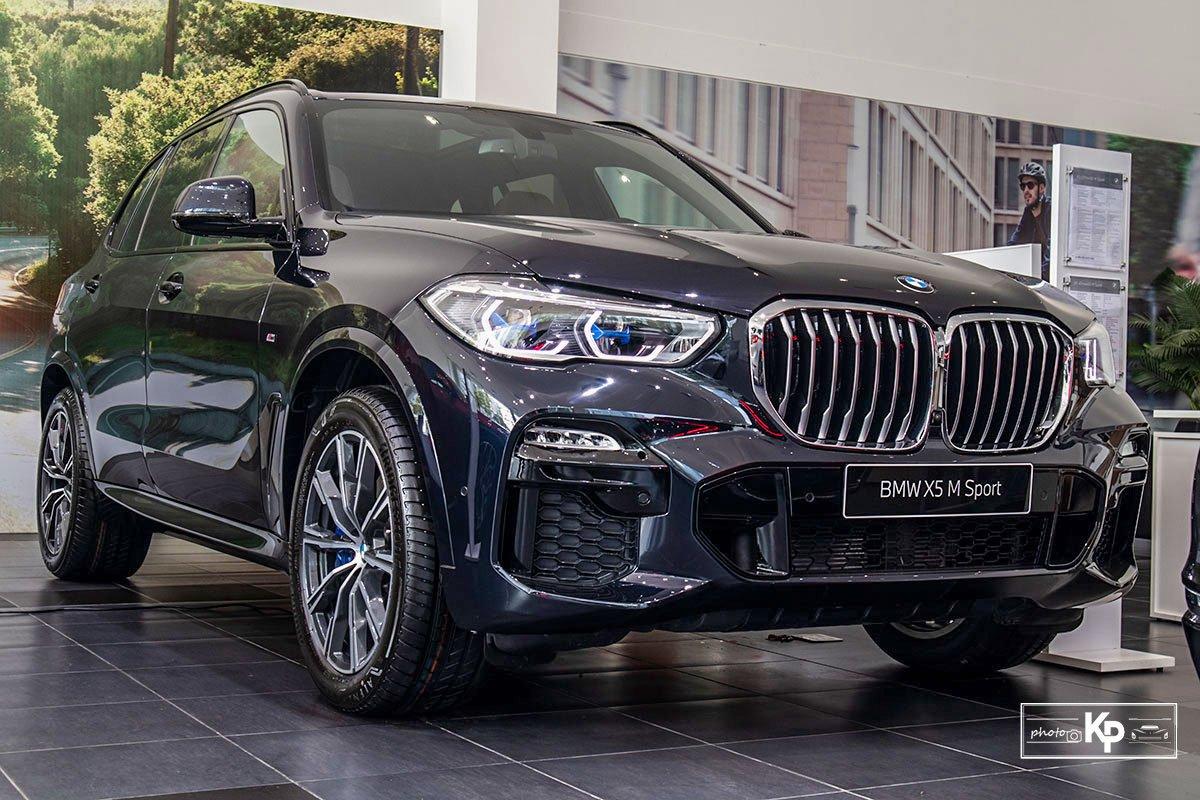 Ảnh Tổng quát xe BMW X5 M-Sport 2021
