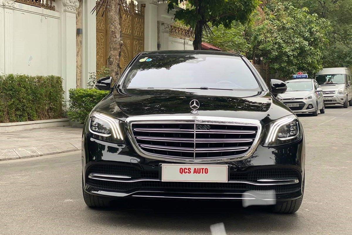 Ngoại thất Mercedes S450 Luxury 2019,