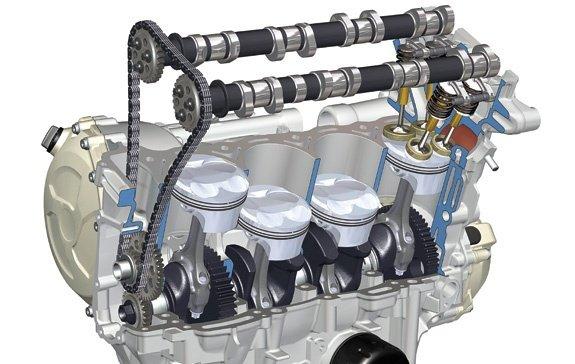 Động cơ I4.