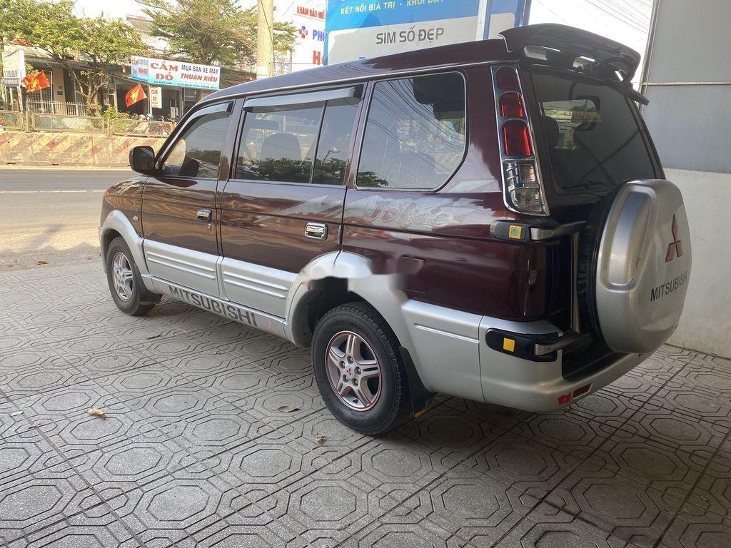 Cần bán gấp Mitsubishi Jolie năm 2004, hai màu đỏ - bạc (5)