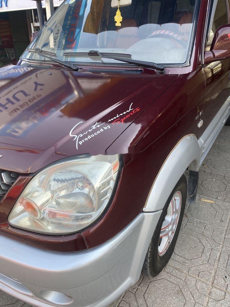 Cần bán gấp Mitsubishi Jolie năm 2004, hai màu đỏ - bạc (2)