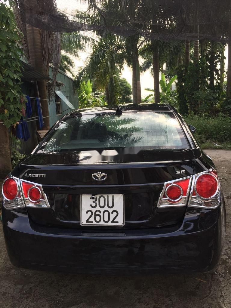 Cần bán xe Daewoo Lacetti sản xuất năm 2009, màu đen (5)