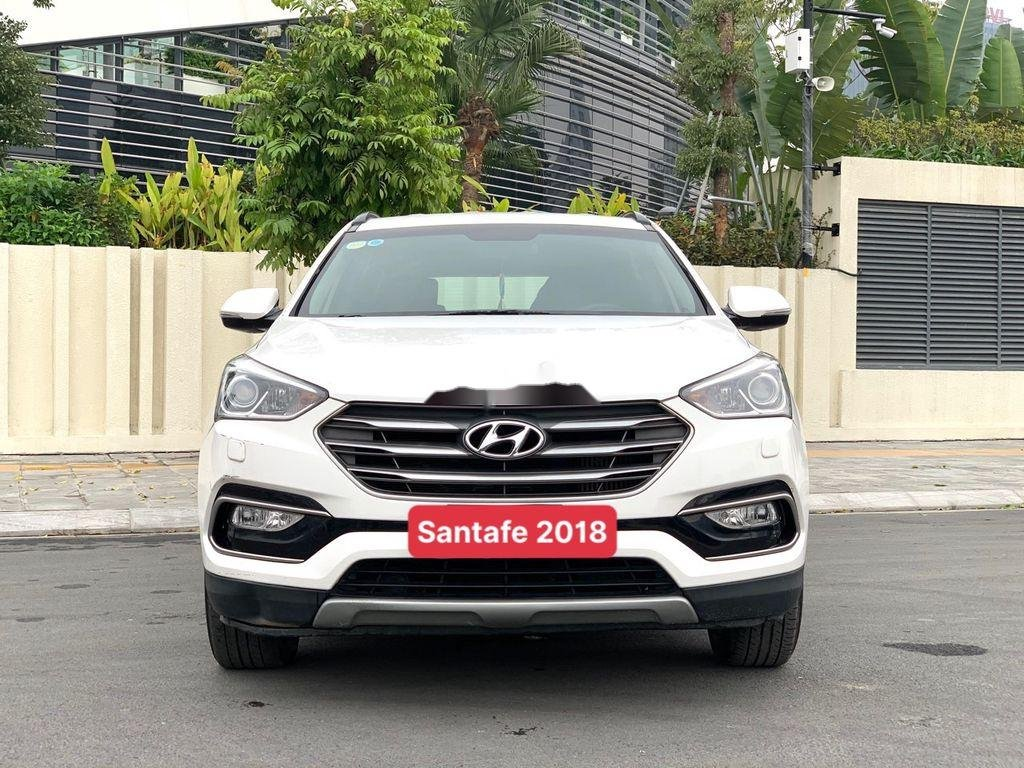 Bán ô tô Hyundai Santa Fe năm sản xuất 2018 còn mới, giá 899tr (1)